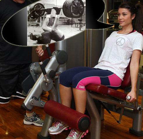 Aufbau der Beinmuskulatur durch Krafttraining